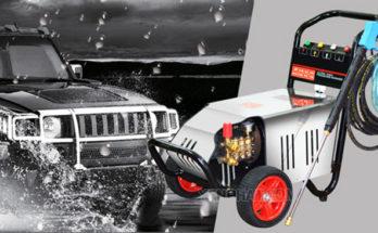 Máy rửa xe chuyên nghiệp cho tiệm rửa ô tô lớn