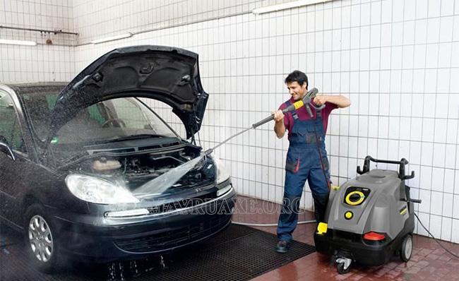 Ưu điểm của máy rửa xe Karcher
