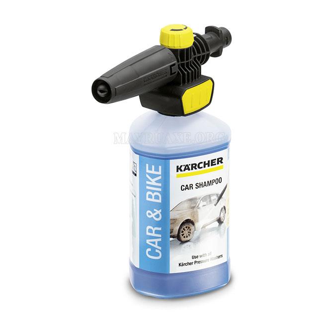 Loại chất tẩy rửa phù hợp với máy rửa xe Karcher