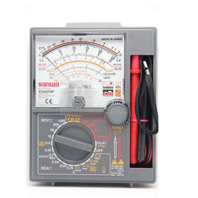 Dụng cụ dùng để đo cường độ dòng điện