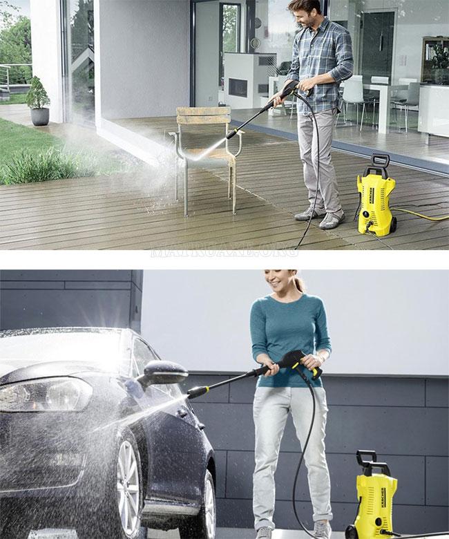 Vai trò của máy rửa xe mini
