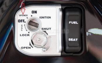 Cách mở côp xe Honda AirBlade