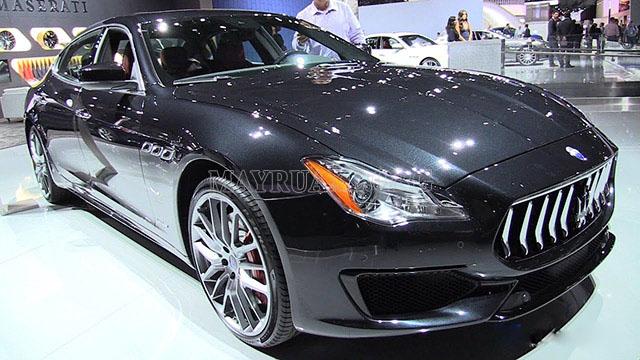 Maserati Quattroporte GranSport GTS 2017