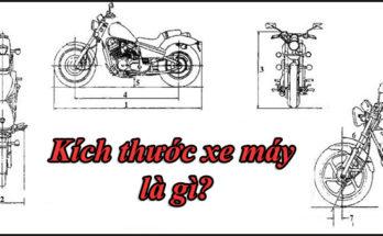 Kích thước xe máy