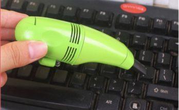 Hút bụi thường xuyên để bàn phím luôn sạch sẽ, máy phát huy được hiệu quả