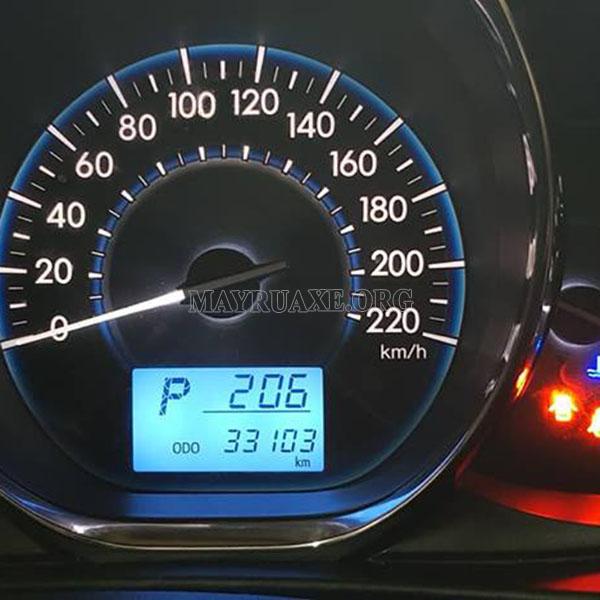 Cách chỉnh đồng hồ km điện tử