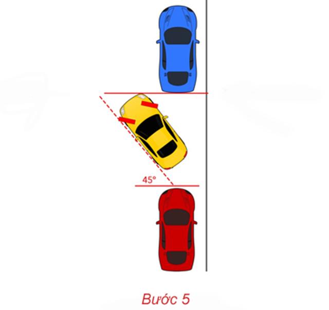 Cách đánh lái khi lùi xe