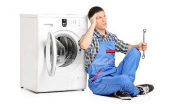 máy giặt kêu lạch cạch